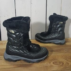The North Face Winter Snow Boots Goose Down Black